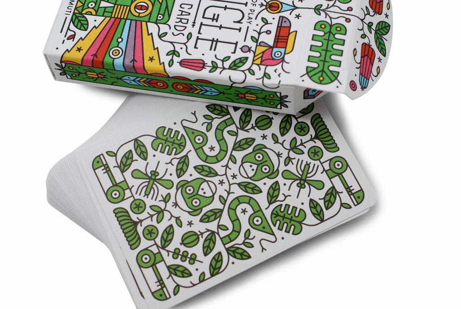 Jungle Deck Playing Cards by Art of Play