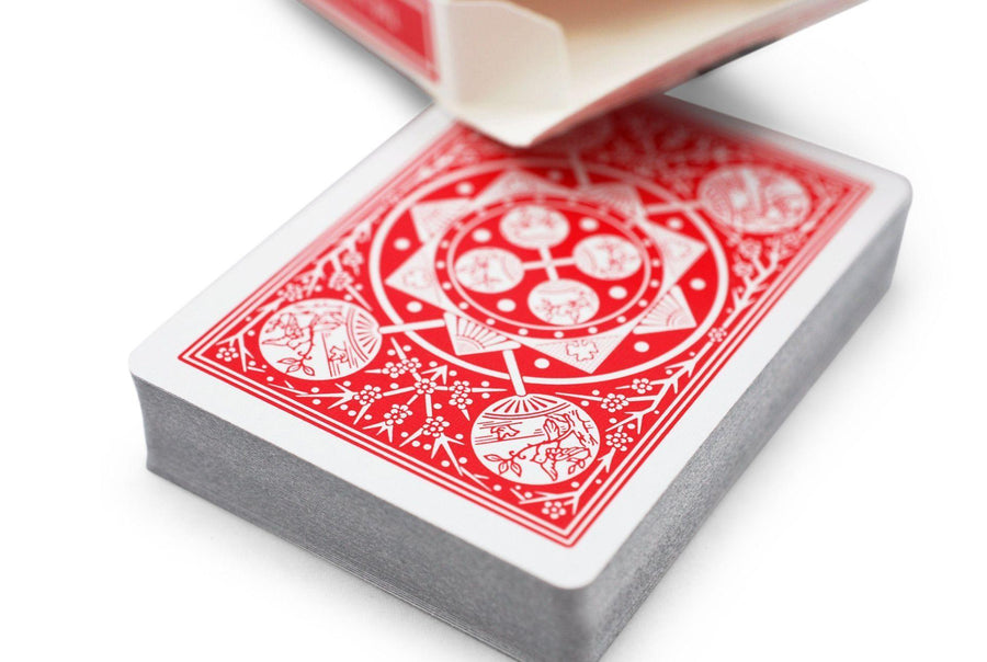 Tally Ho Fan Back Playing Cards by US Playing Card Co.