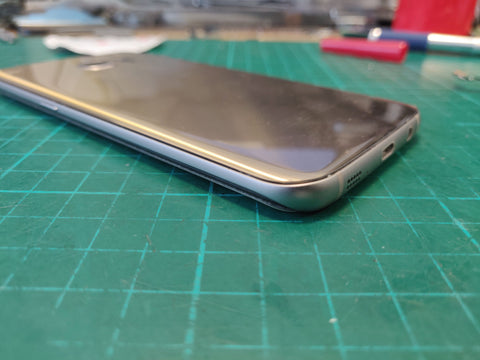 samsung galaxy s8 battery replacment, back cover closed