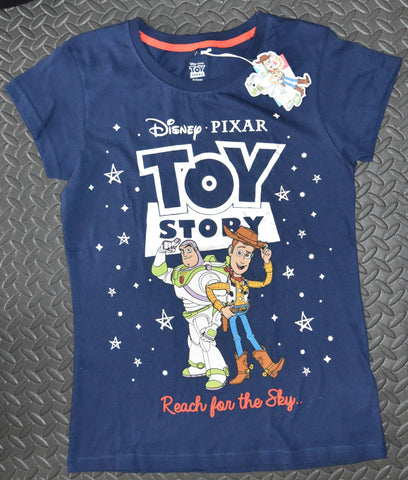 TOY STORY PRIMARK T-Shirt REACH FOR THE SKY DISNEY PIXAR Ladies Sizes 10 to 16