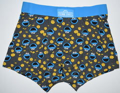 COOKIE MONSTER PANTS Mens Boxers FRONT AND BACK PRINT Underwear Sizes M - XXL