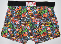 MARVEL PANTS AVENGERS Mens BACK AND FRONT PRINT Boxers Underwear Sizes M - XXL