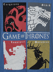 Game of Thrones T Shirt Men's GoTs House Banner Sigil NEW UK Sizes S - XXXL - Click. Buy. Love. - 2