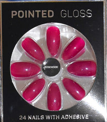 False Nails Primark PS Gelly Pointed Gloss Matte Long Squareletto French Fashion NEW