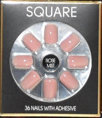 Fashion False Nails Primark PS Pointed Square Matte Gold Squareletto Make Up