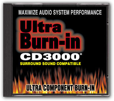 Ultra Burn-in CD3000 Stereo and Surround Sound Burn-in CD