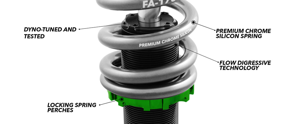 05-10 Chevrolet Cobalt Fortune Auto Coilovers - 500 Series