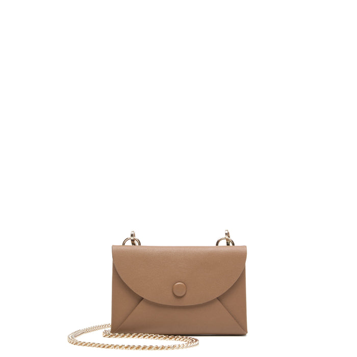 Assembly Chain Cardlet - Light Camel + True Black - OAD NEW YORK