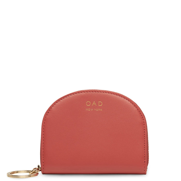 Calf Dia Mini Mirror Wallet - Rosewood - OAD NEW YORK