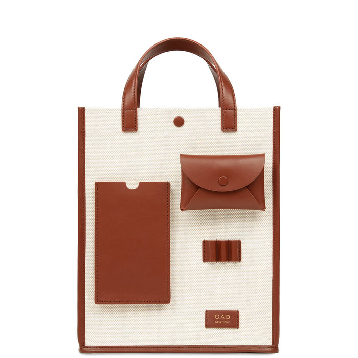 Canvas Pocket Courier - Sienna + Sand - OAD NEW YORK