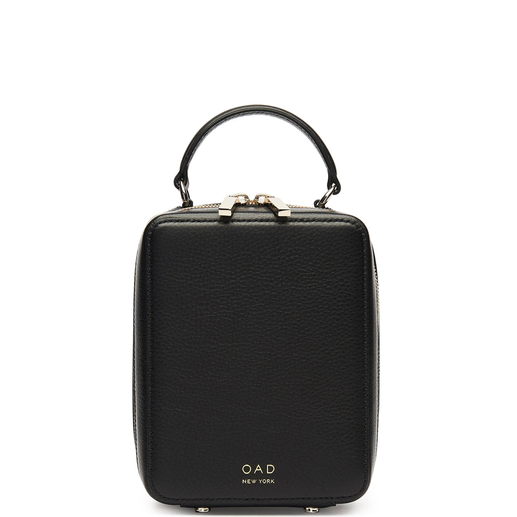 Mini Box Crossbody - True Black - OAD NEW YORK