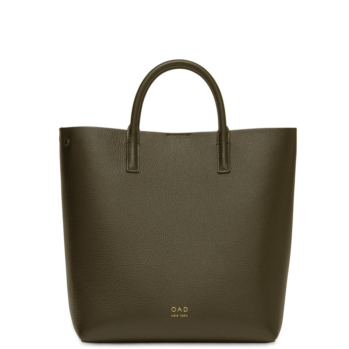 Tall Carryall Tote - Moss