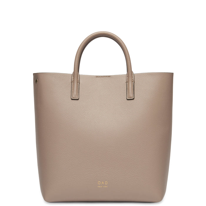 Tall Carryall Tote - Taupe