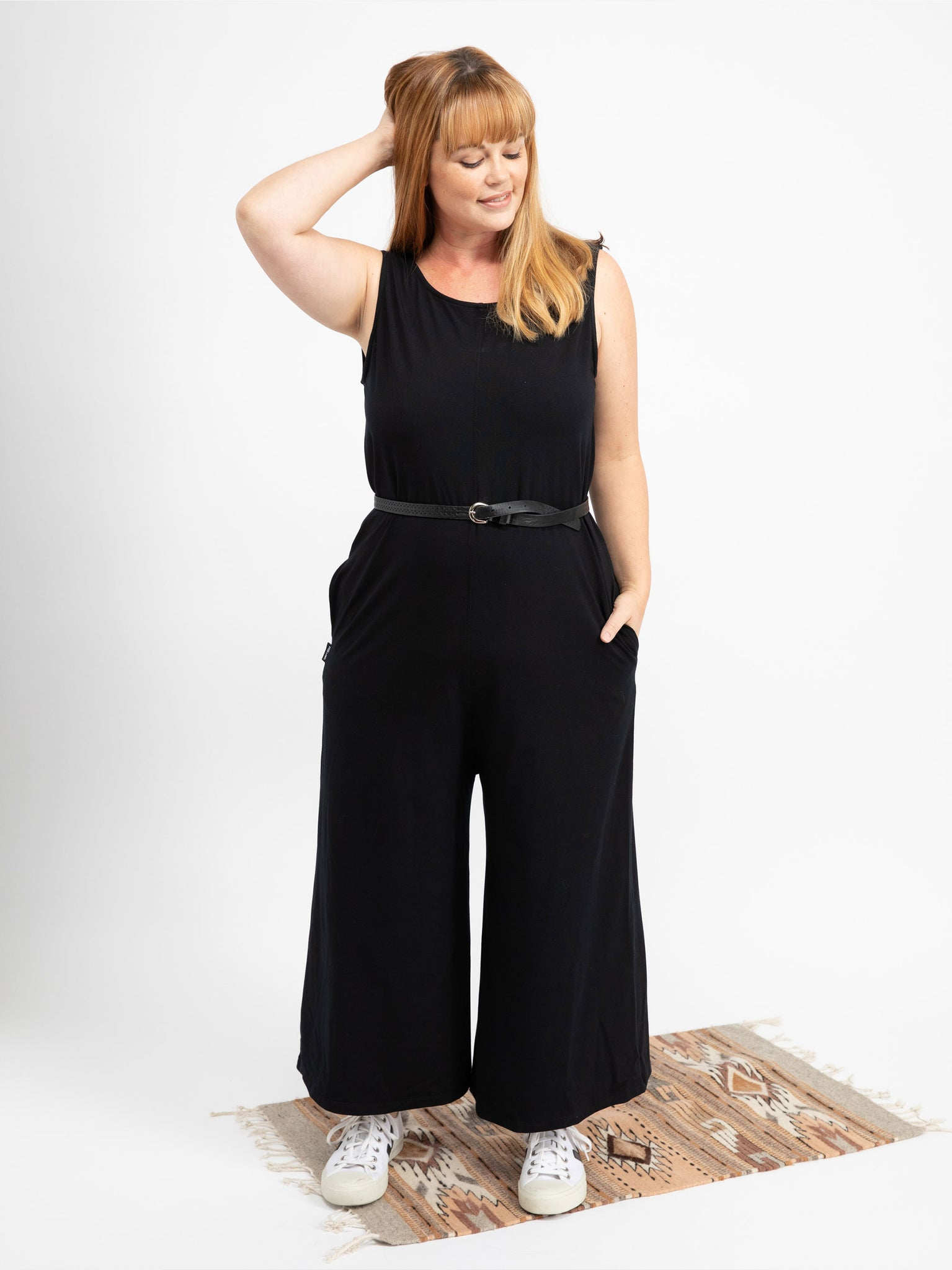BLACK ANDIE JUMPSUIT