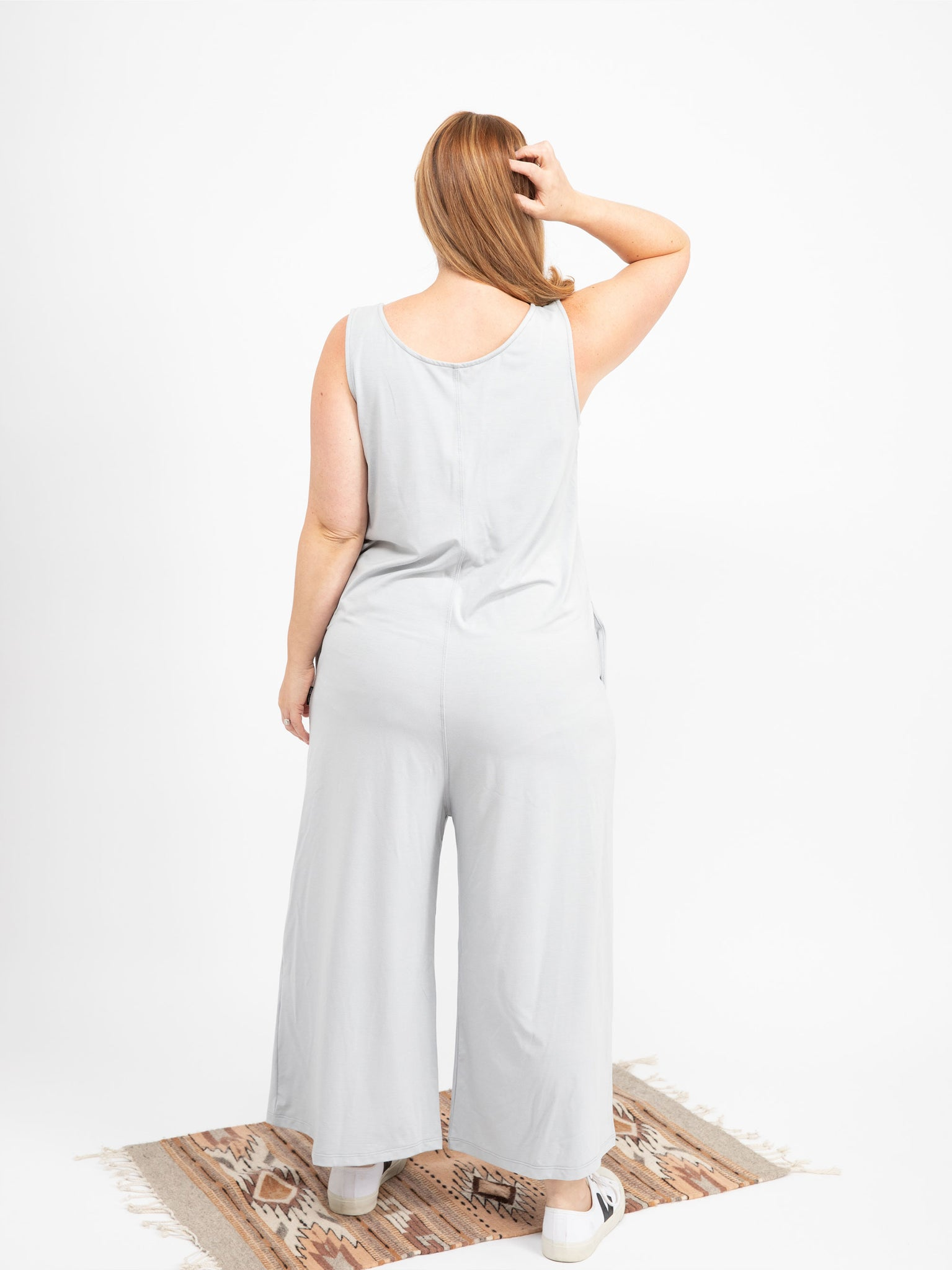 GREY ANDIE JUMPSUIT