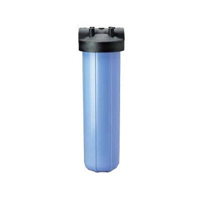 "Big Blue Water Filter Housing Kit 20"" Blue w 1.5"" Inlet"