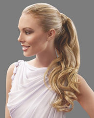 23 Inch Wrap Around Pony Extension By Jessica Simpson - R6/30H Chocolate Copper