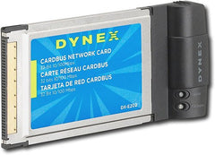 Dynex DX-E202 Network Adapter - CardBus - 10/100Mb LAN