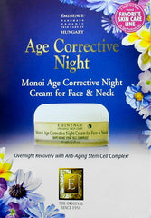 Monoi Age Corrective Night Cream For Face & Neck Sample