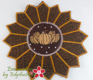 THANKSGIVING TRIVET In The Hoop Project -DIGITAL DOWNLOAD