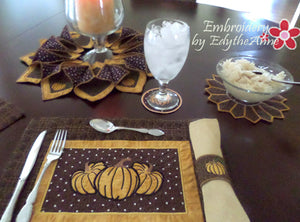 THANKSGIVING TABLE 5 Piece Set - Save 10% Off- Digital Downloads