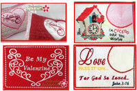 VALENTINE MUG MAT/MUG RUG BUNDLE - Save 50% on Bundle- Digital Downloads