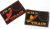 MEXICAN TRAIN GAME In The Hoop Embroidered Mug Mat.   - Digital File - Instant Download - Embroidery by EdytheAnne - 3