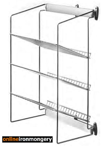 Wardrobe Multiple Tier Shoe Rack Pull Out