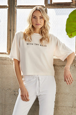 'With the Band' Boxy Crop Tee