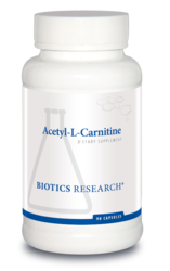 Acetyl L-Carnitine by Biotics Research - Gluten Free