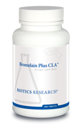 Bromelain Plus CLA by Biotics Research - Gluten Free