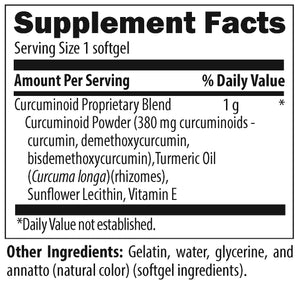 Curcum-Evail Softgels by Designs for Health