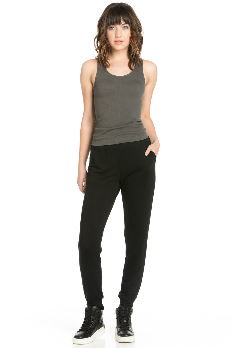 Lightweight Black Jogger Pants - Jogger Pants - My Yuccie - 7