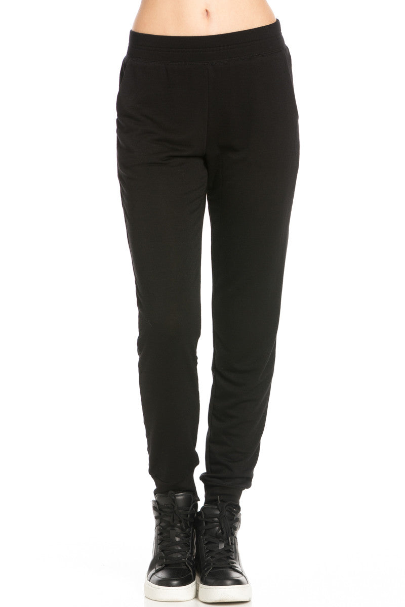 Lightweight Black Jogger Pants - Jogger Pants - My Yuccie - 2