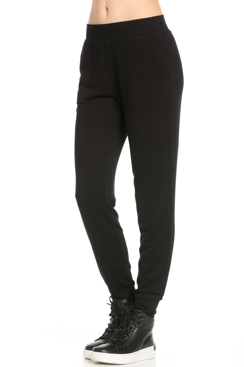Lightweight Black Jogger Pants - Jogger Pants - My Yuccie - 3