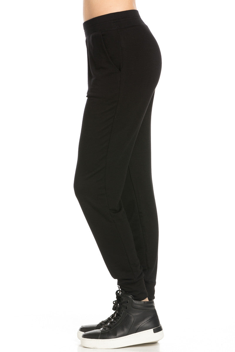 Lightweight Black Jogger Pants - Jogger Pants - My Yuccie - 4