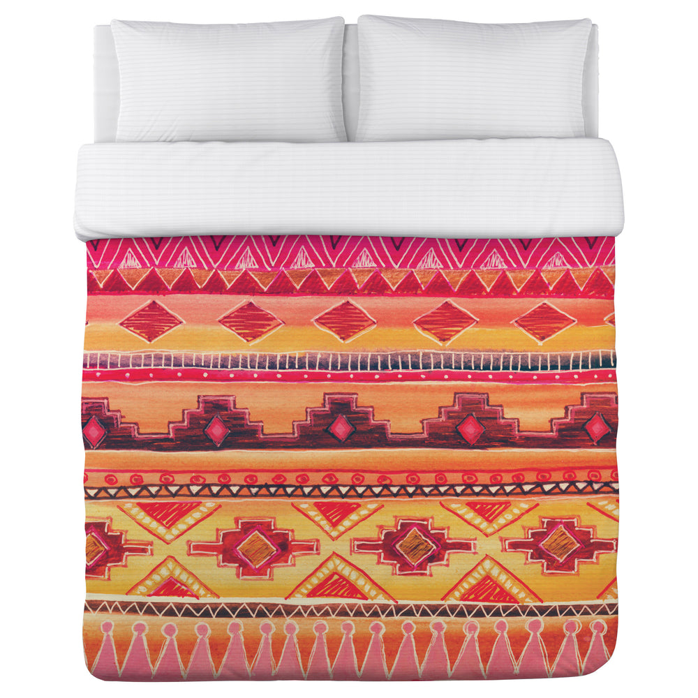 Tequila Sunrise Duvet Cover
