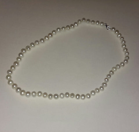 Classic Freshwater Pearl Strand.