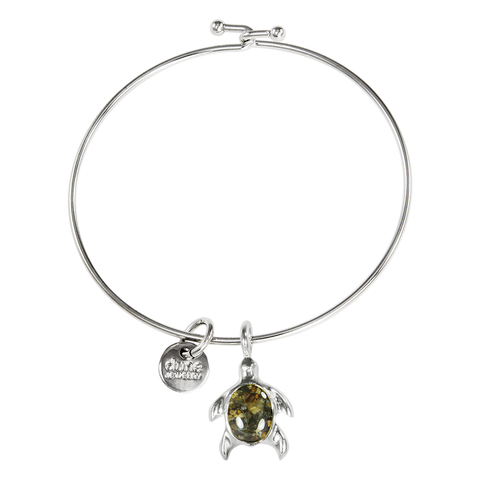 Beach Bangle Turtle Bracelet