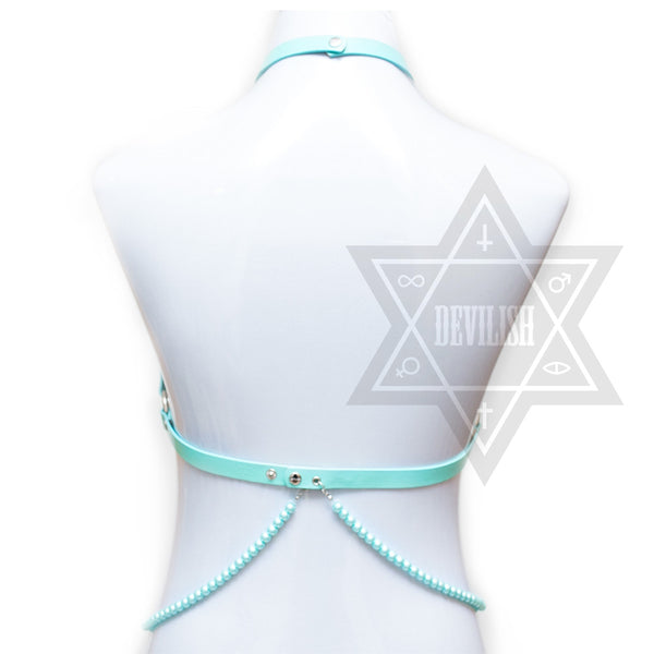 Punk mermaid harness