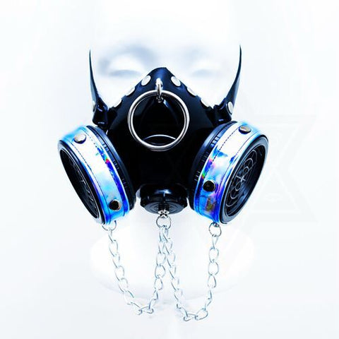 Cyber punk gas mask*
