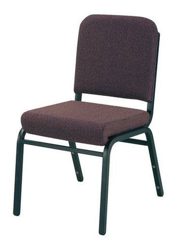 Versatile, Comfortable Stacking Chair, Vinyl Upholstery