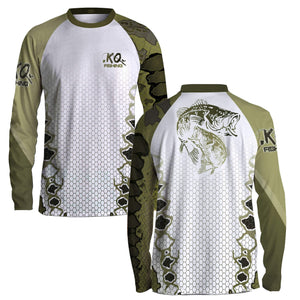 Bass Fish Scale Shirt Series - Long Sleeve