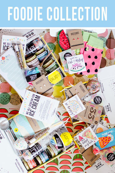 Say Hello: Food Themed Gift Parties