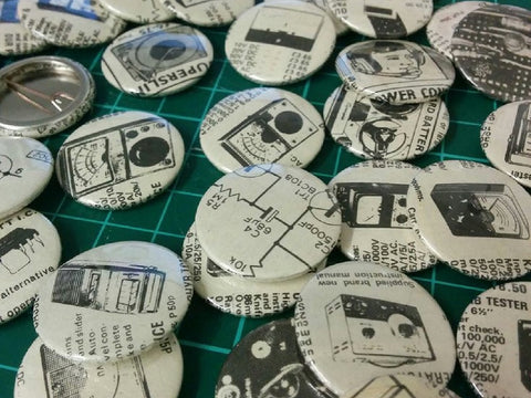"""Electronics Geek"" badges"