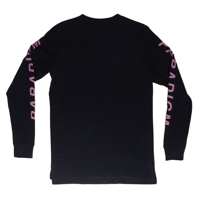 Smush Navy / Pink LS T-Shirt - Paradigm Apparel