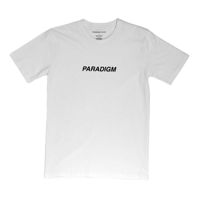 Central White T-Shirt - Paradigm Apparel