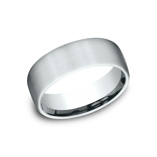 Benchmark Comfort Fit Satin Finished Wedding Band CF717561