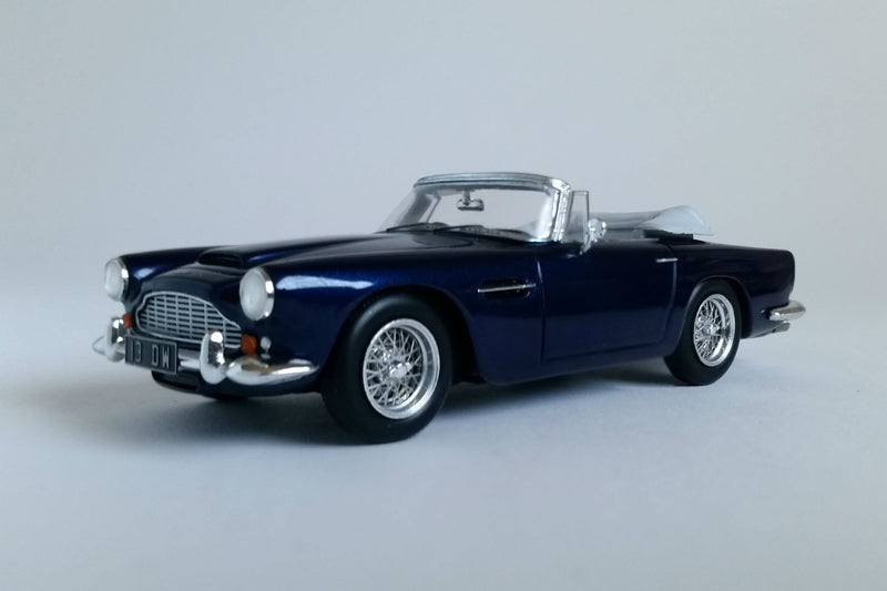 Aston Martin DB4 Convertible | 1:43 Scale Model Car by Spark | Front Quarter