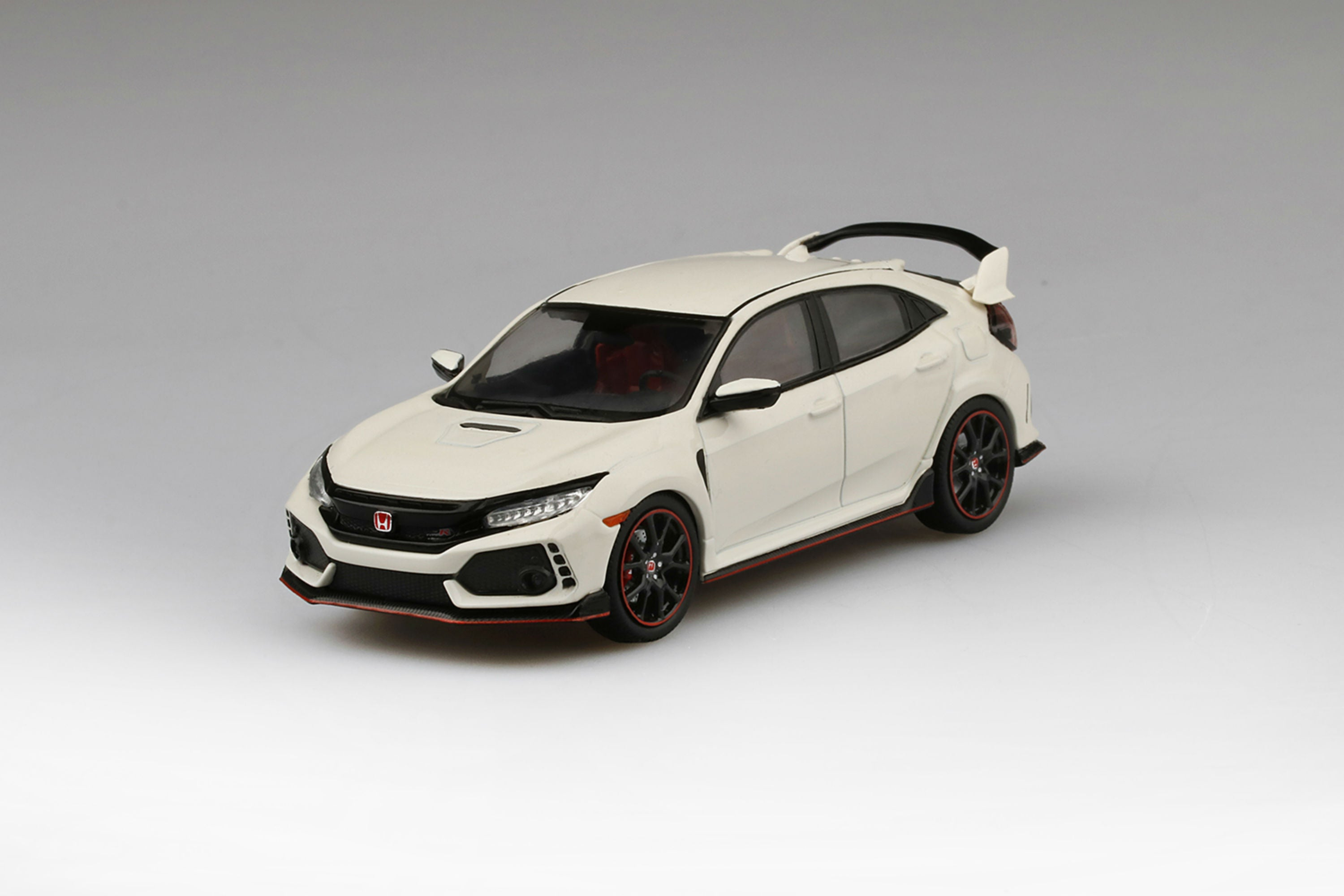 Honda Civic Type R (2017) | 1:43 Scale Diecast Model Car by TSM | Front Quarter